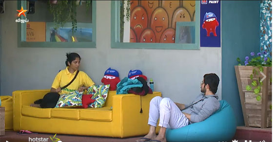 Photo of Bigg Boss Sep 01  Promo Video 1 – Julie is a Snake – Arthy