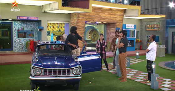 Photo of Bigg Boss Sep 13 Promo Video 1 – Ganesh Against Snehan in Car Task