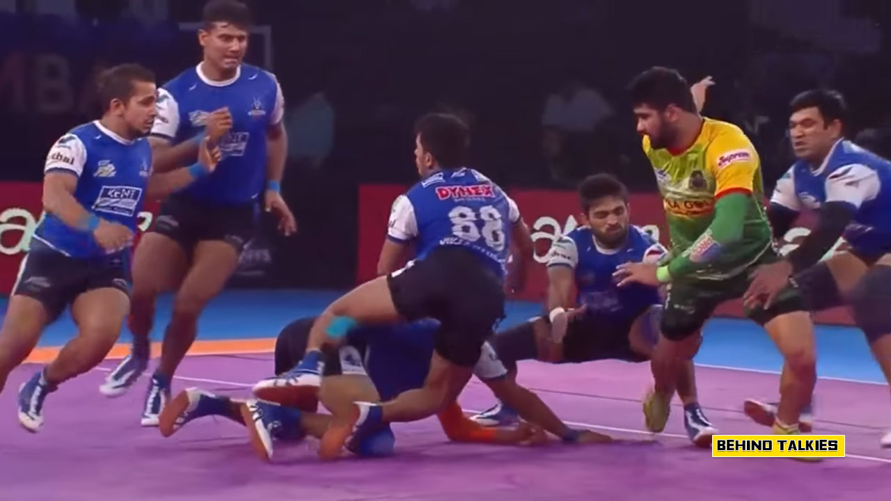 Photo of 8 Points from Single Ride – Pradeep Narwal | kabaddi