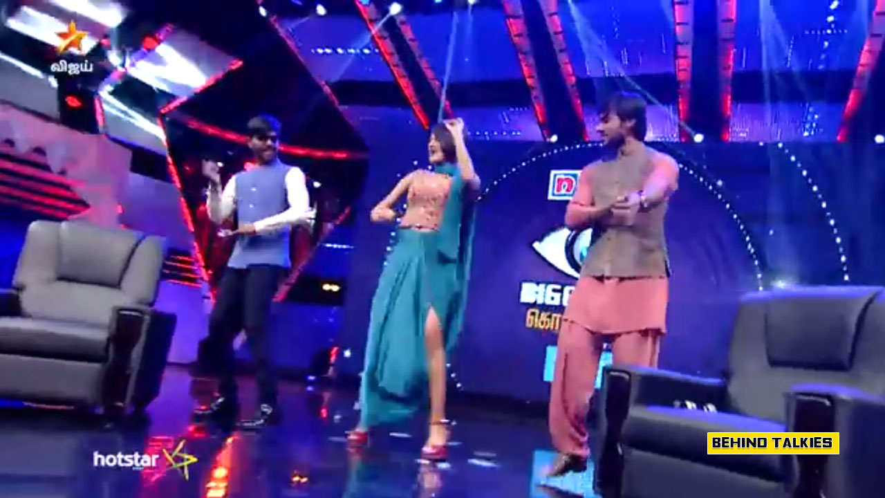 Photo of Oviya Dance for Jimmiki Kammal – Bigg Boss Reunion