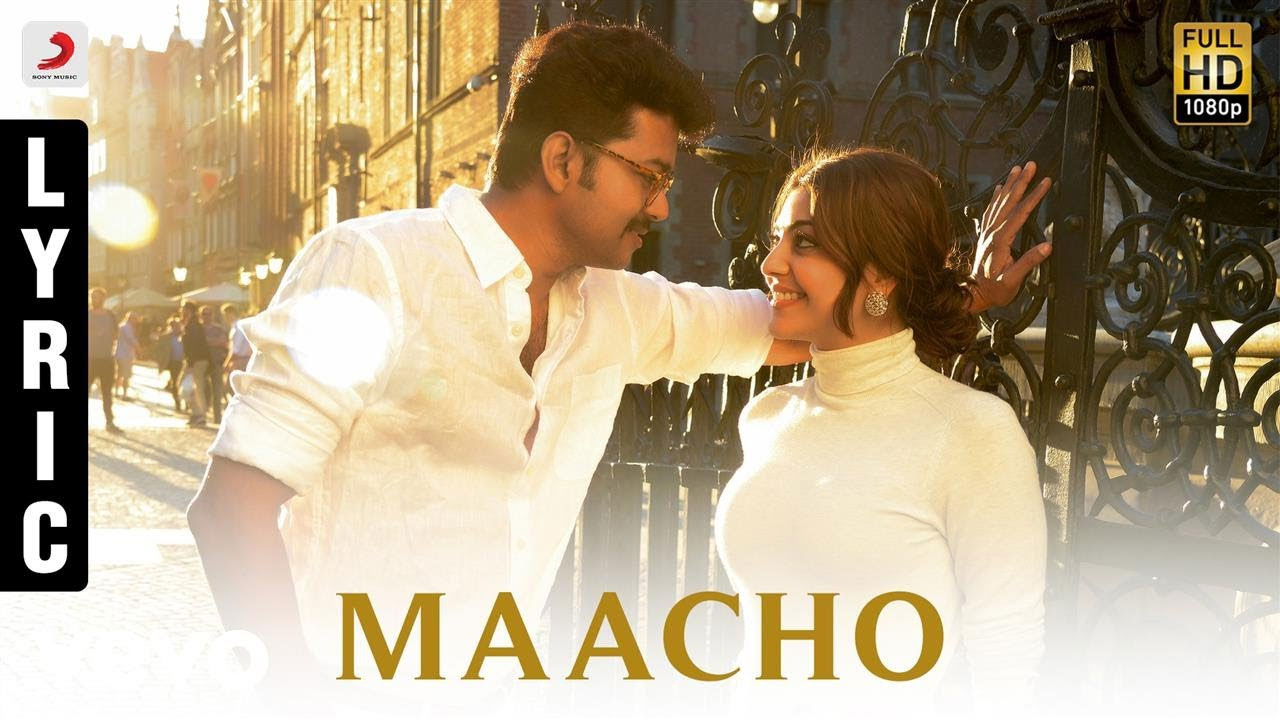 Photo of Macho Song Lyrics – Mersal