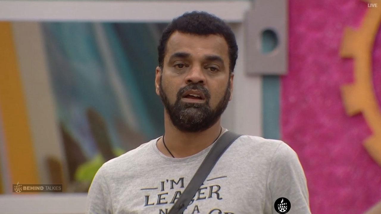Balaji Angry in Bigg Boss