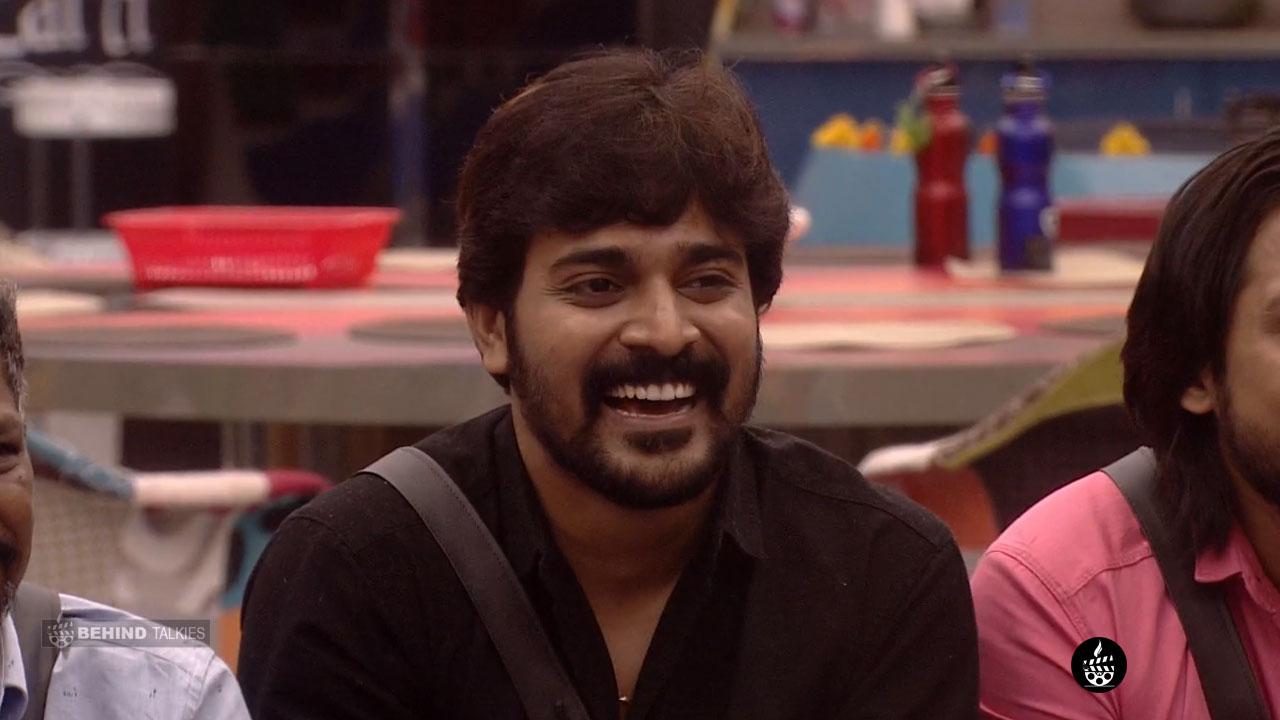 Srinish Aravind In Bigg Boss House