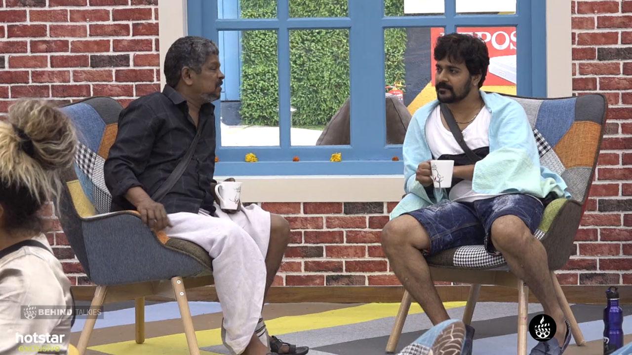 Srinish Aravind and Suresh In Bigg Boss