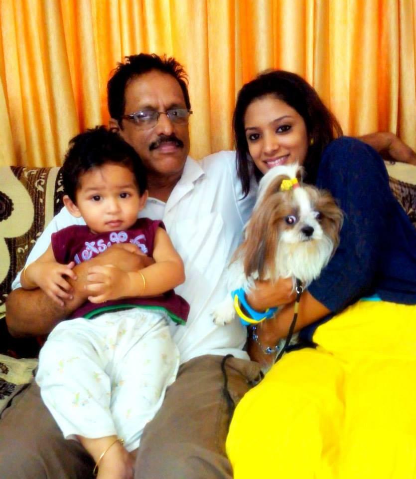 diya with her father