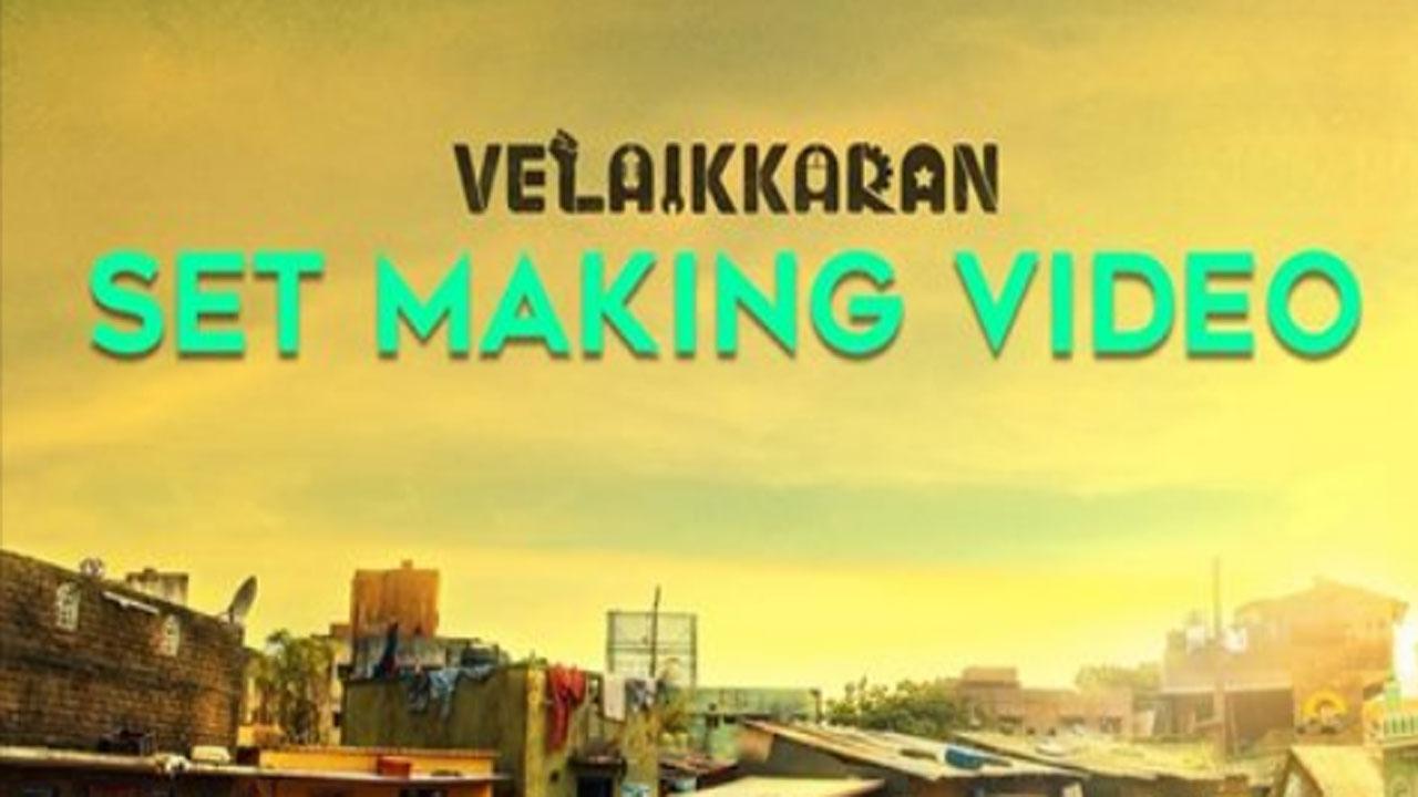 Photo of Velaikkaran Set Making Video !