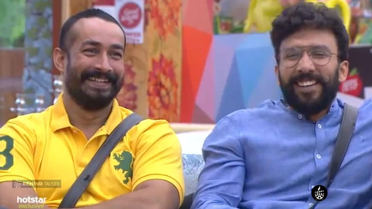 Amit Tiwari and Kiriti in Bigg Boss House