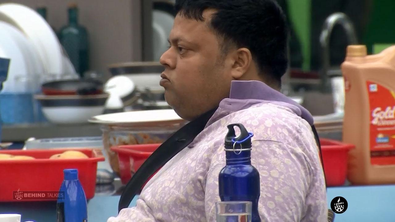 Anoop Chandran In Bigg Boss House