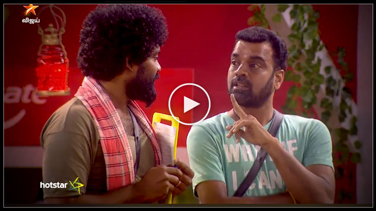 Photo of Bigg Boss Tamil : Balaji acts like Anand Vaidyanathan