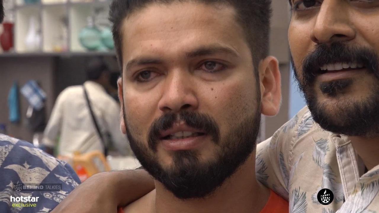 Basheer Bashi Crying Bigg Boss House-closeup