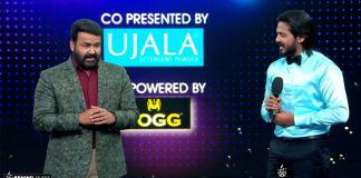 David John with Mohanlal in Bigg Boss
