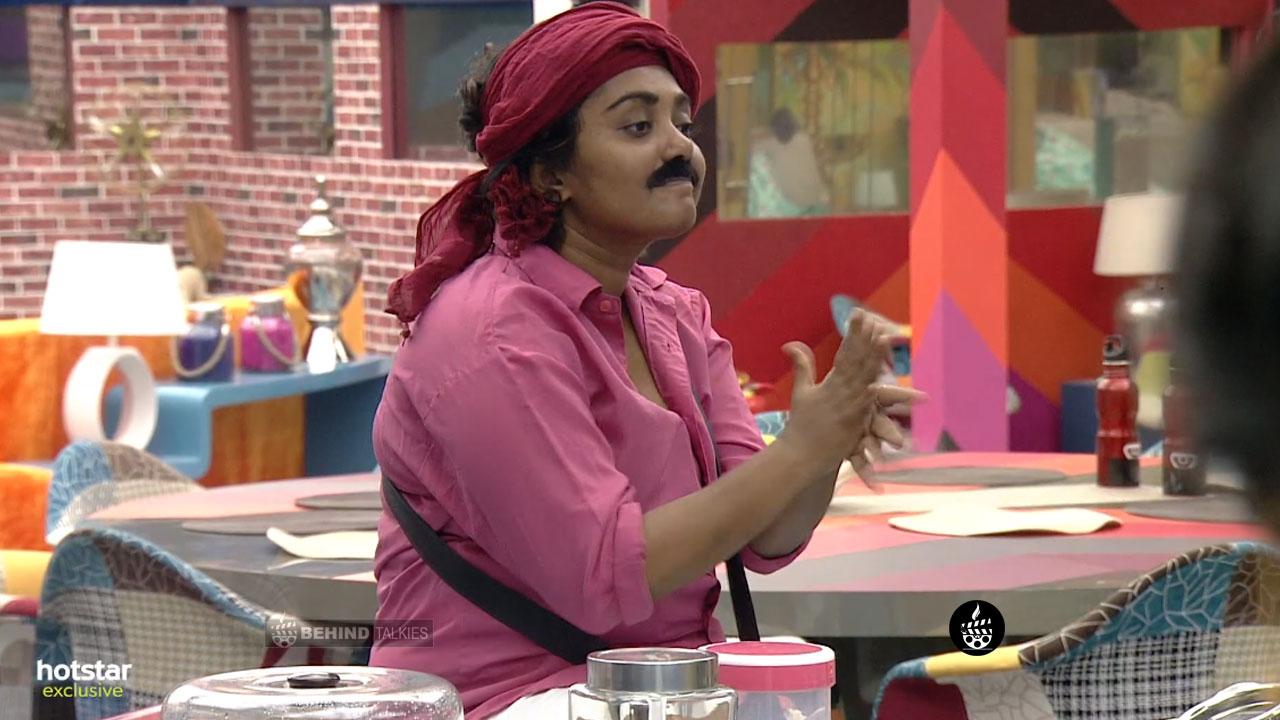 Hema Shankar in Bigg Boss House Task