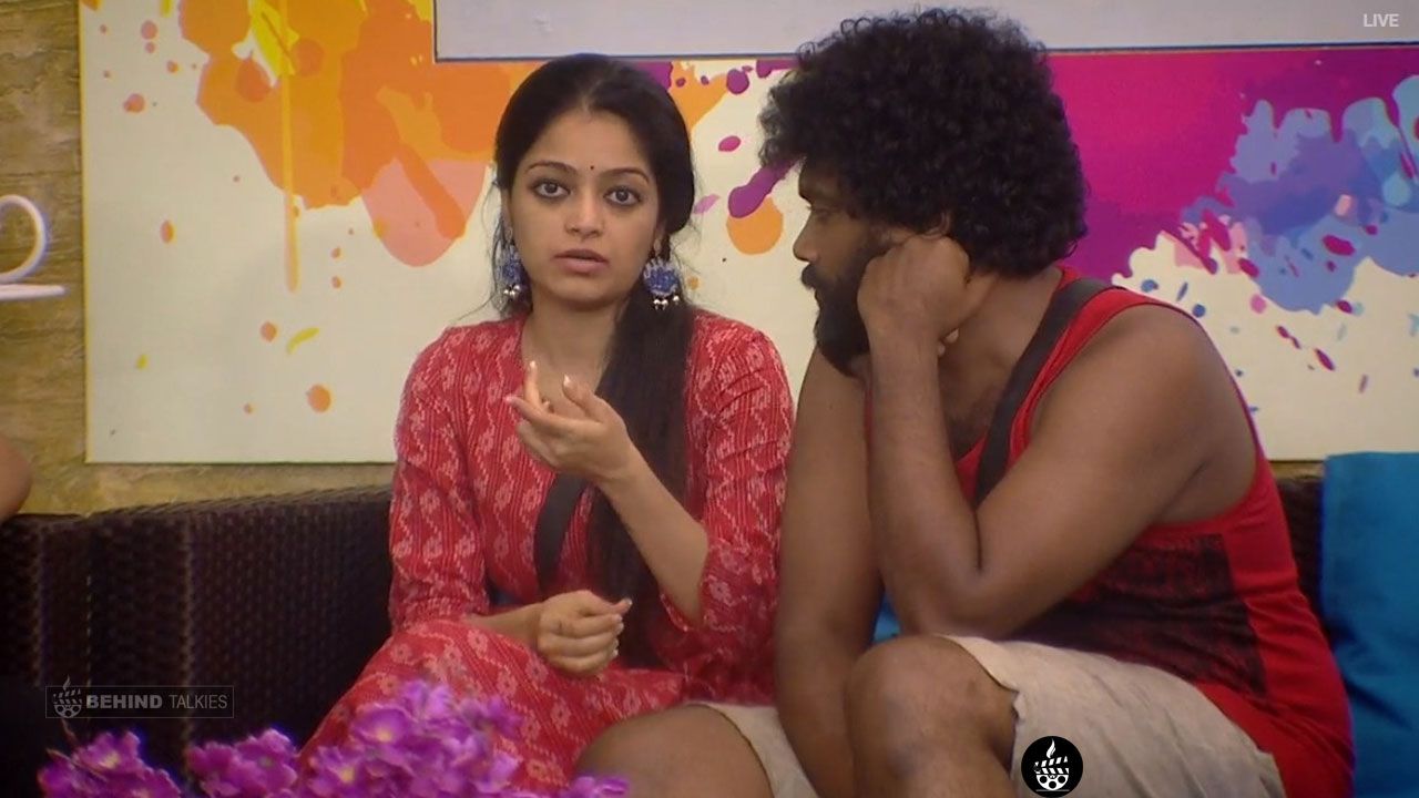 Janani and danny Bigg Boss House