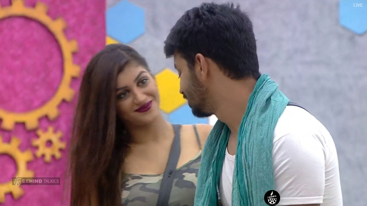 Mahat and Yashika Bigg Boss House