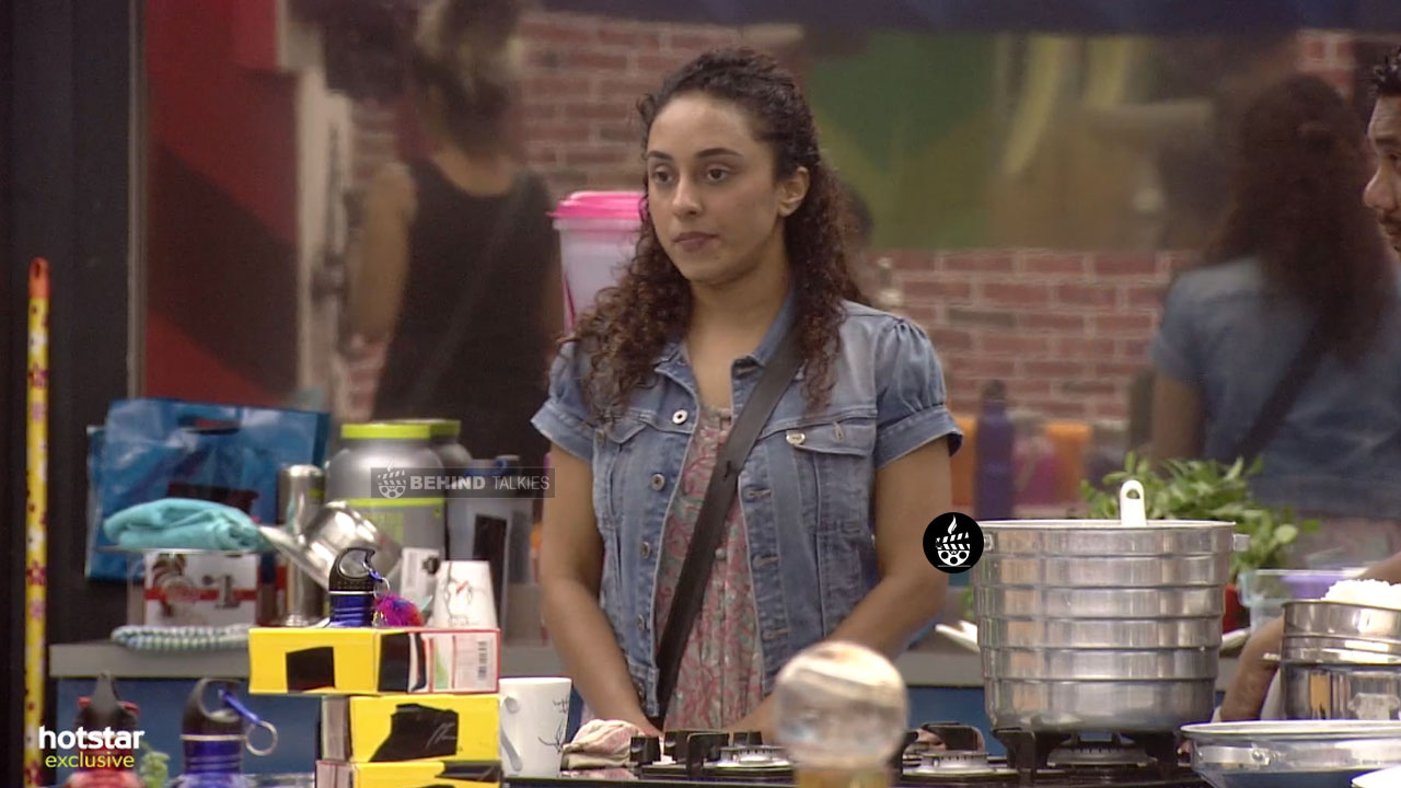 Pearle Maaney in Bigg Boss House