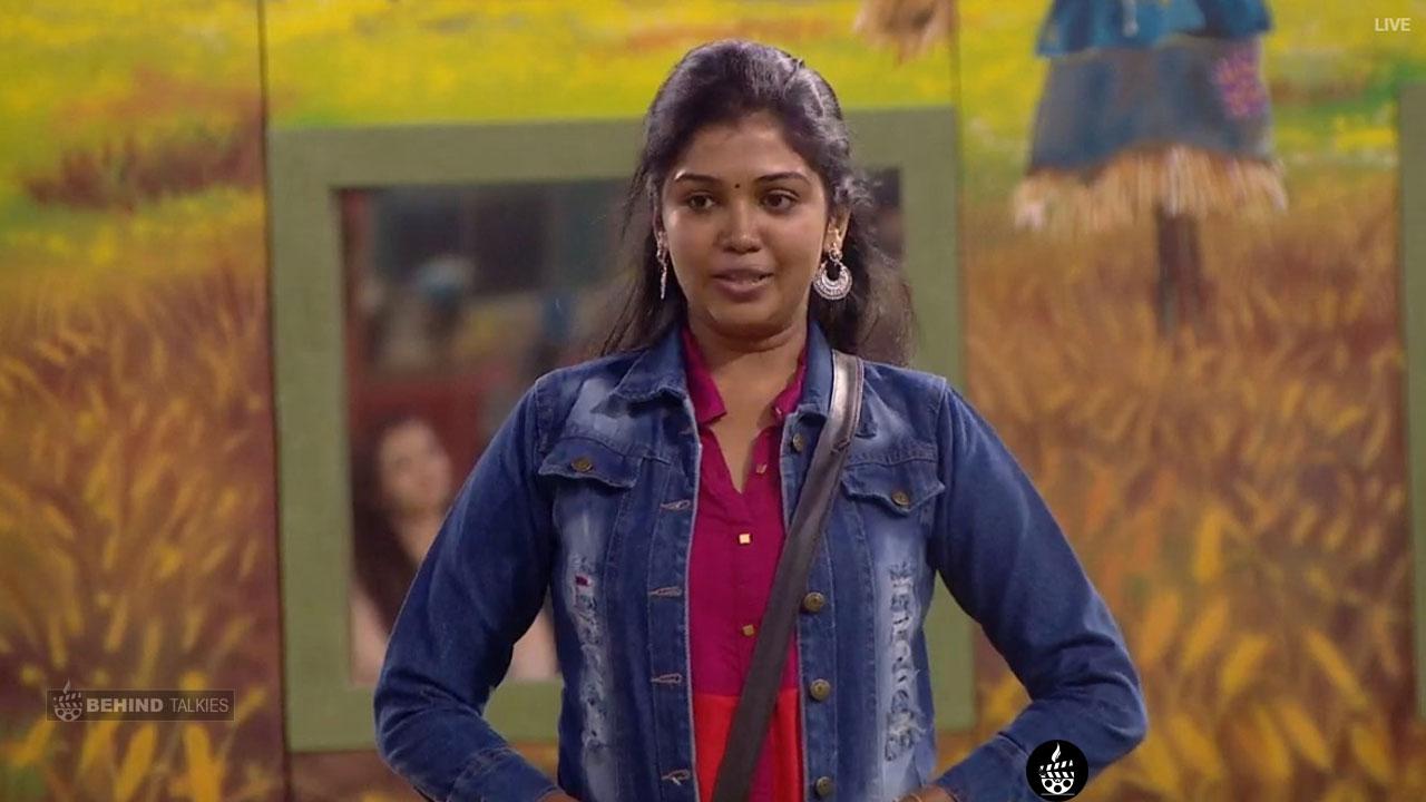 Riythvika in Bigg Boss