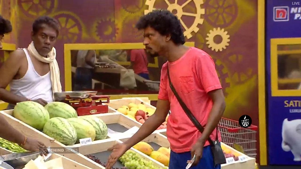 Sendrayan Market Task in Bigg Boss House