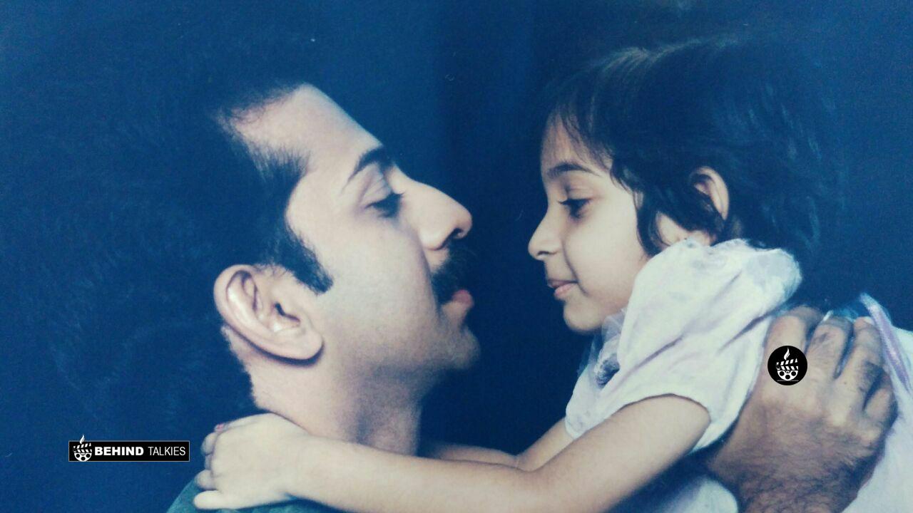 Sowbhagya Venkitesh Childhood Photo