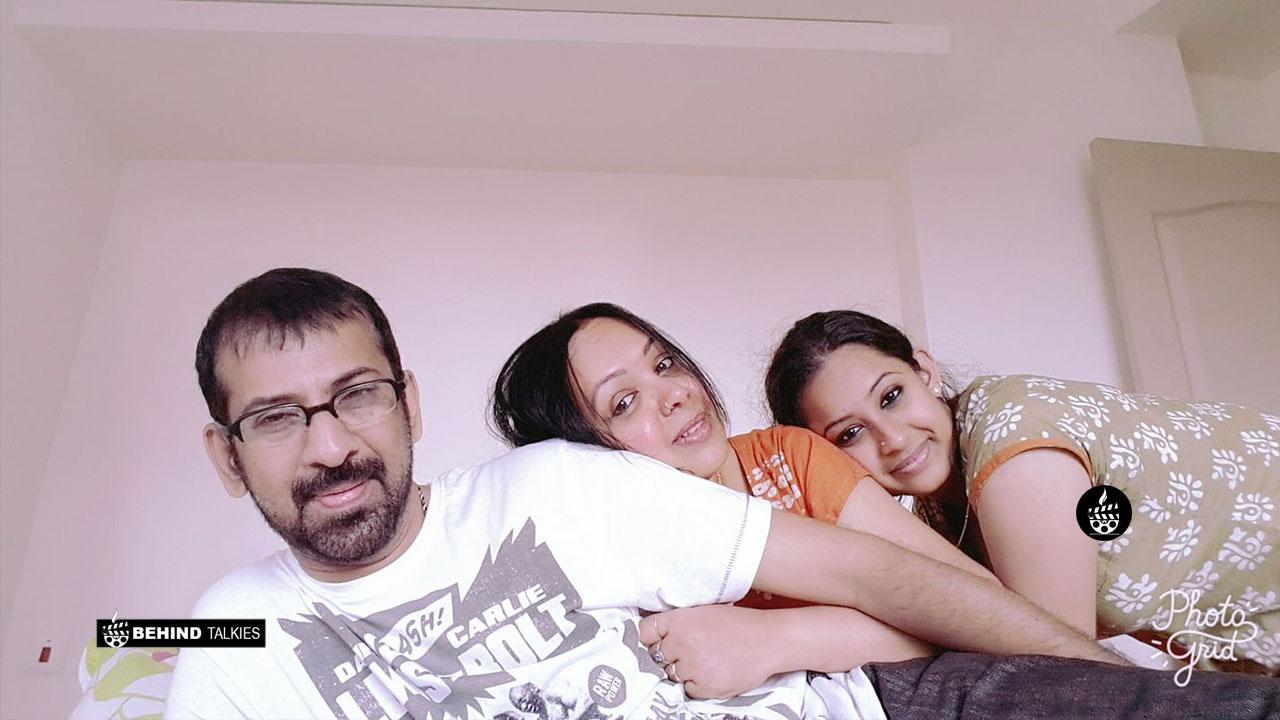 Sowbhagya Venkitesh With her Parents