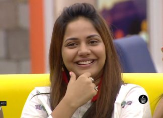 Aishwarya dutta smiling in Bigg Boss
