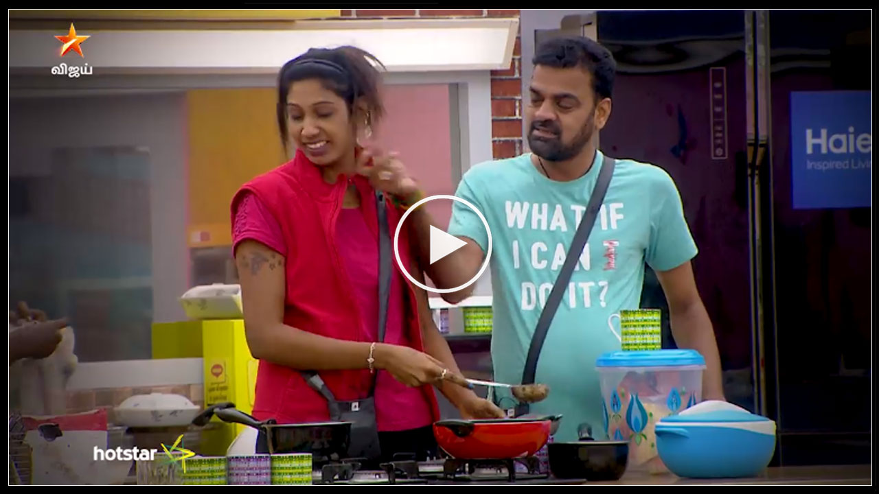 Photo of Bigg Boss Tamil : Funny task performing by contestant