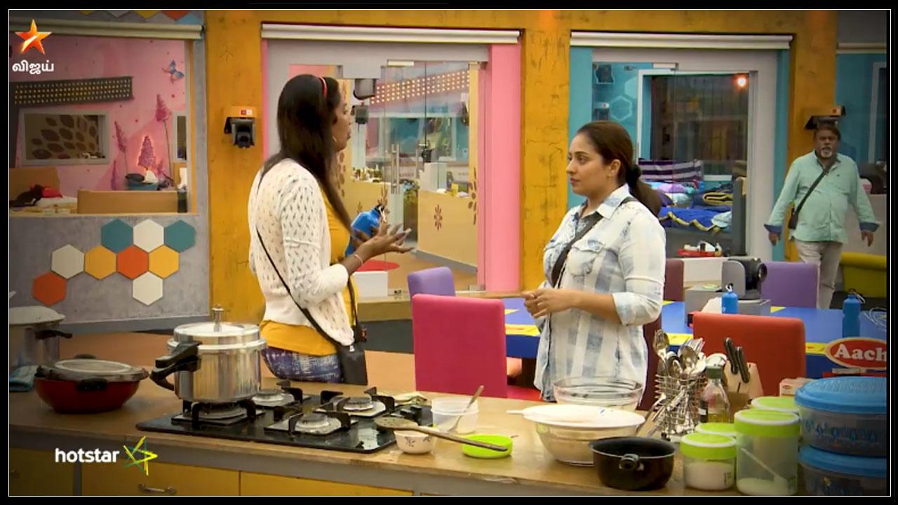 Photo of BIGG BOSS: Nithya Arguing With Mumtaj And Mamathi