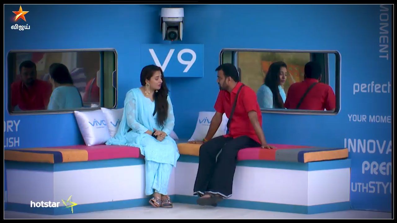 Photo of Bigg Boss Tamil : Mumtaz screwing up Balaji