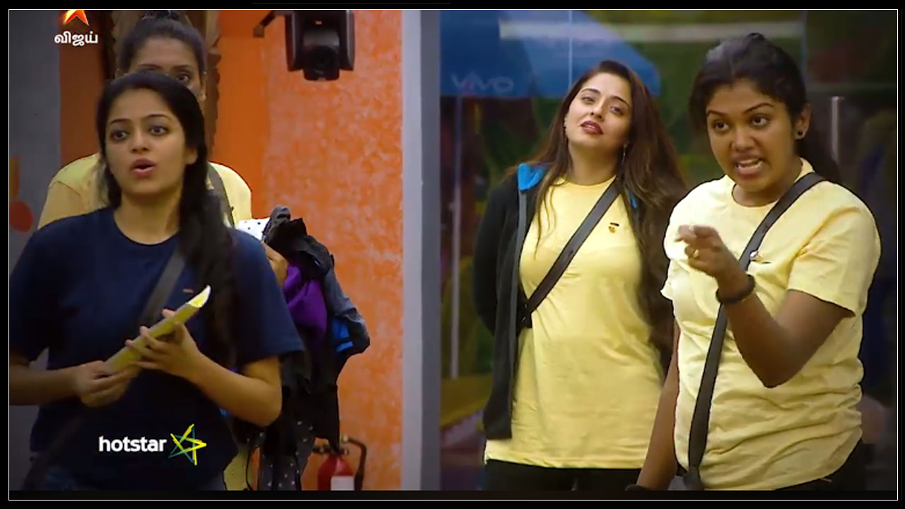 Photo of Bigg Boss Tamil : Fight Between Riythvika And Aishwarya