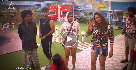 Photo of Bigg Boss Tamil : Fight between Aishwarya and Ponnambalam