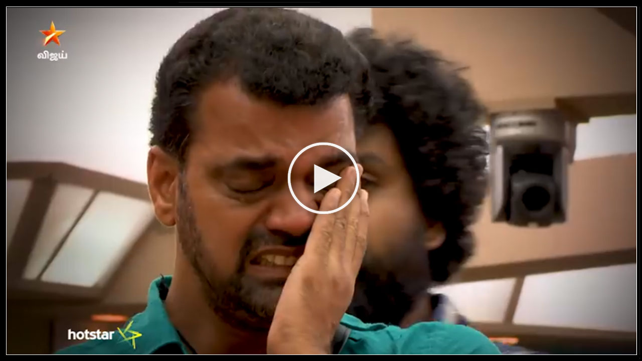 Photo of Bigg Boss Tamil : Balaji Gets Emotional