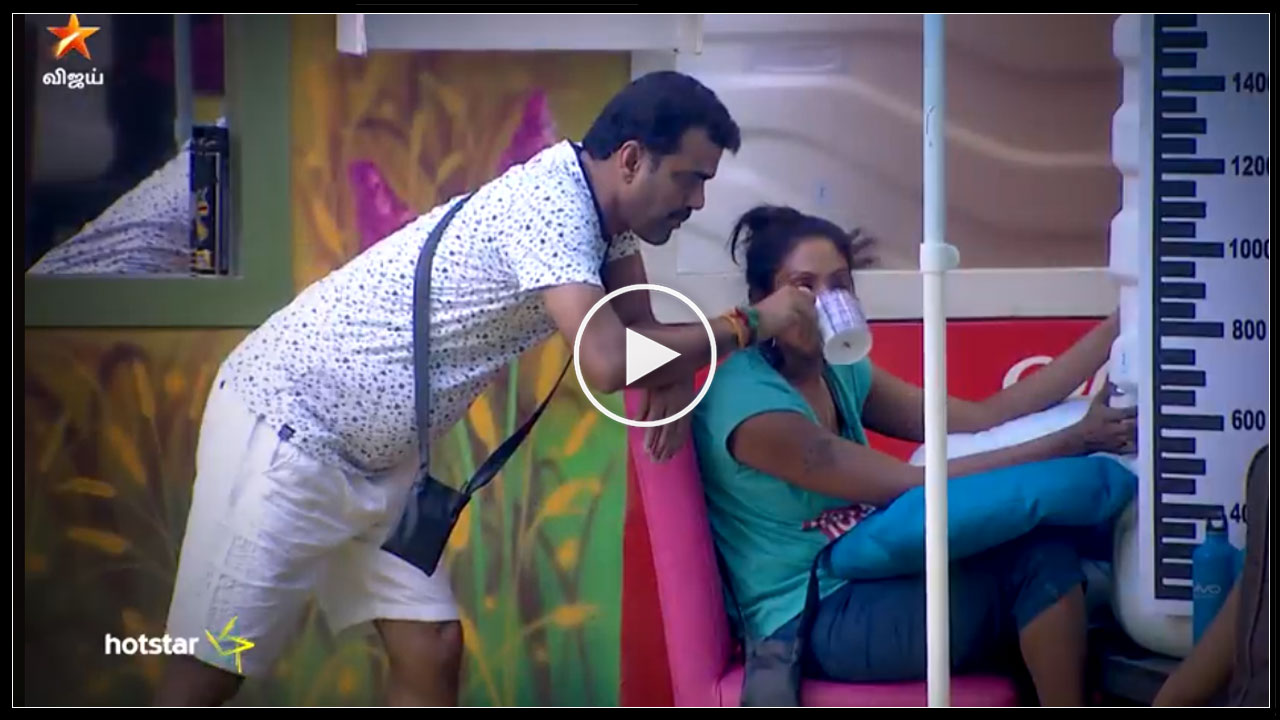 Photo of Bigg Boss Tamil : Romance between Balaji and Nithya