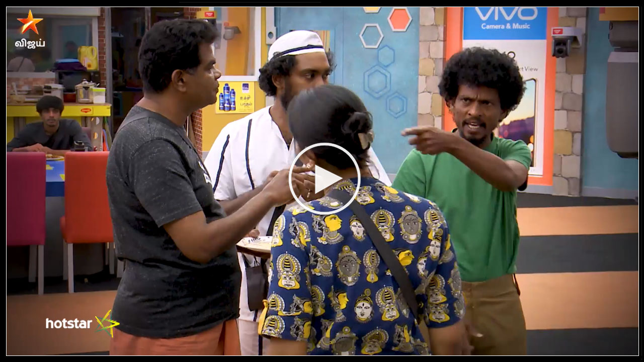 Photo of Bigg Boss Tamil : Fight Between Ponnambalam And Vaishnavi
