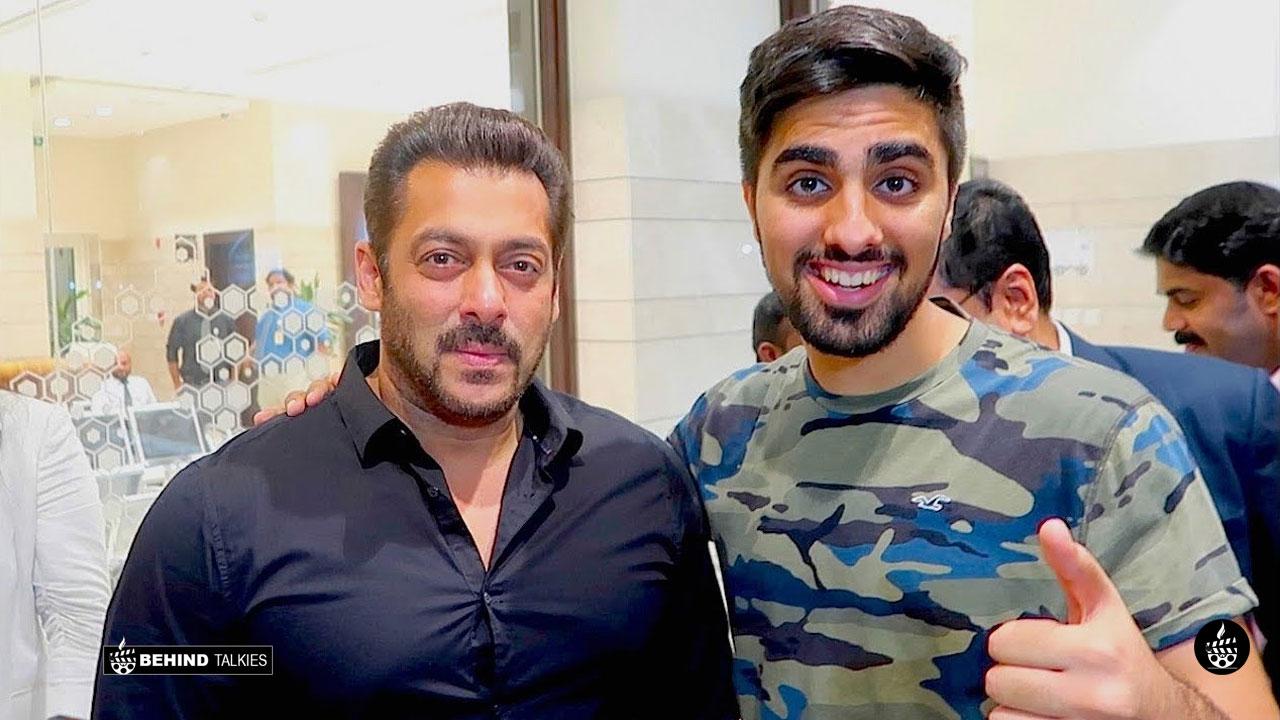 Mo Vlogs Along with Salman Khan