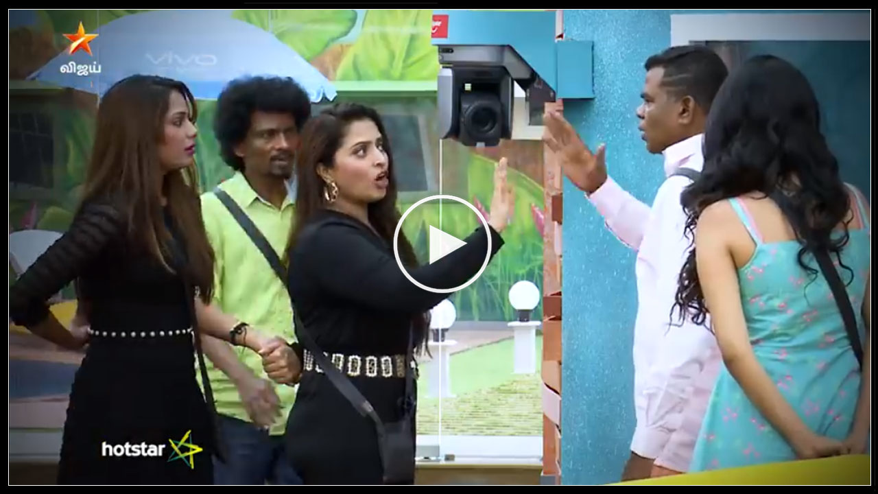 Photo of Bigg Boss Tamil : Ponnambalam Fight With Aishwarya