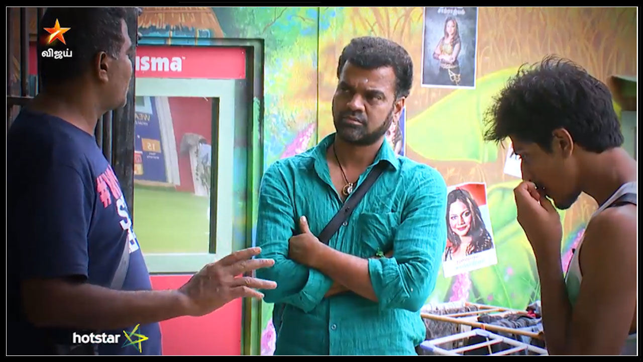 Photo of Bigg Boss Tamil : Ponnambalam Triggering Balaji