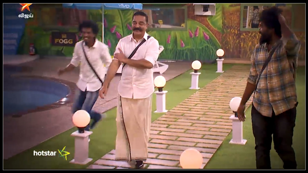 Photo of Bigg Boss Tamil : Kamal Entered Inside Bigg Boss House