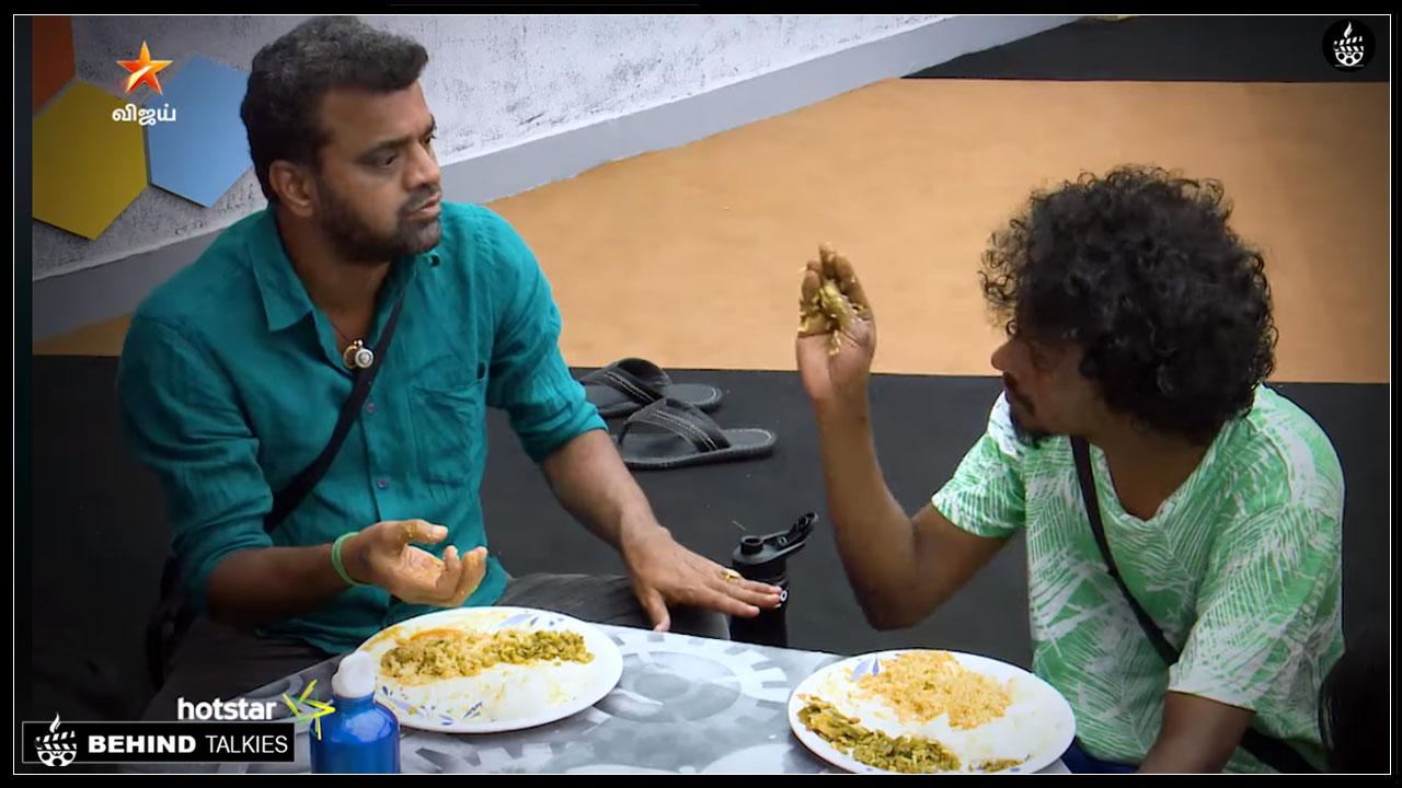Photo of Bigg Boss Tamil:  Fight Between Sendrayan And Balaji