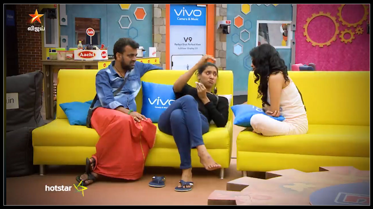 Photo of Bigg Boss Tamil : Fight Between Daniel And Vaishnavi