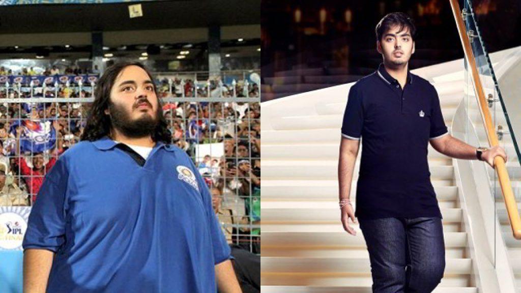 Akash Ambani body transformation