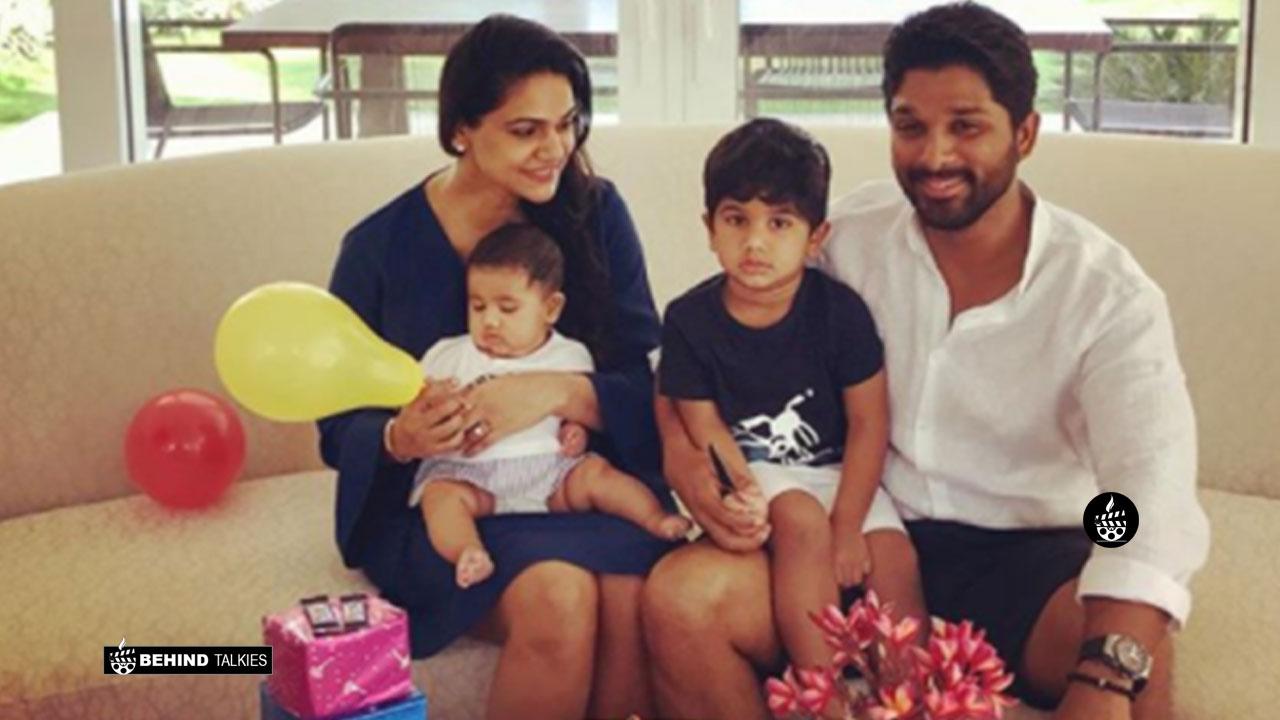 Photo of Allu Arjun Family