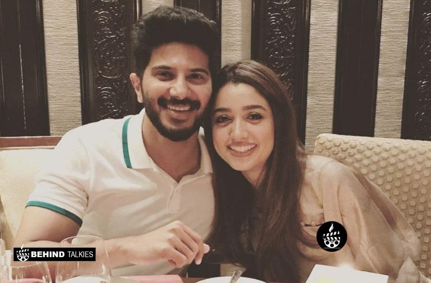 Amal Sufiya and Dulquer Salmaan
