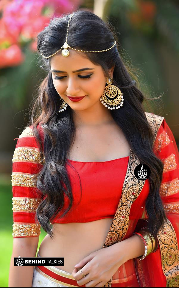 Ashika Ranganath Classical Look