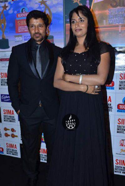 Vikram and his wife shailaja balakrishnan