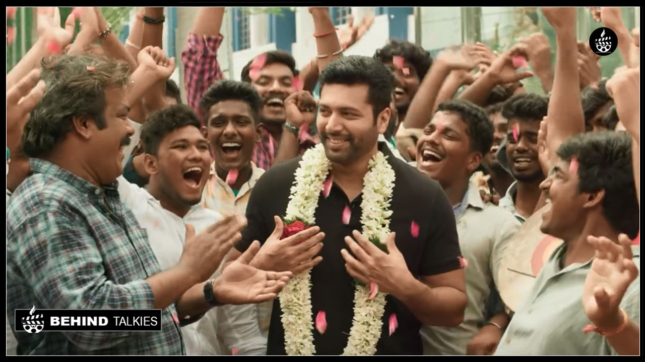 Photo of Jayam Ravi 'Adangamaru' Official teaser| Starring  Jayam Ravi and  Raashi Khanna