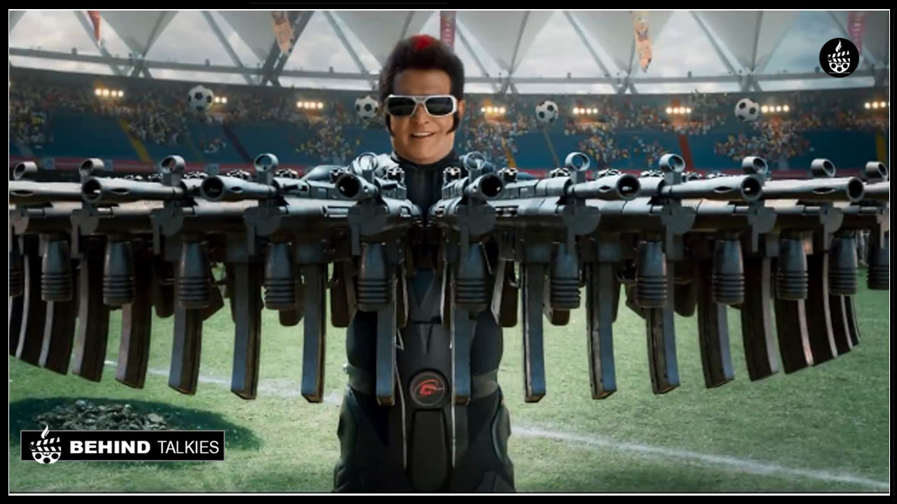 Photo of Much awaited '2.0' trailer is here …!Starring Rajinikanth and Amy Jackson