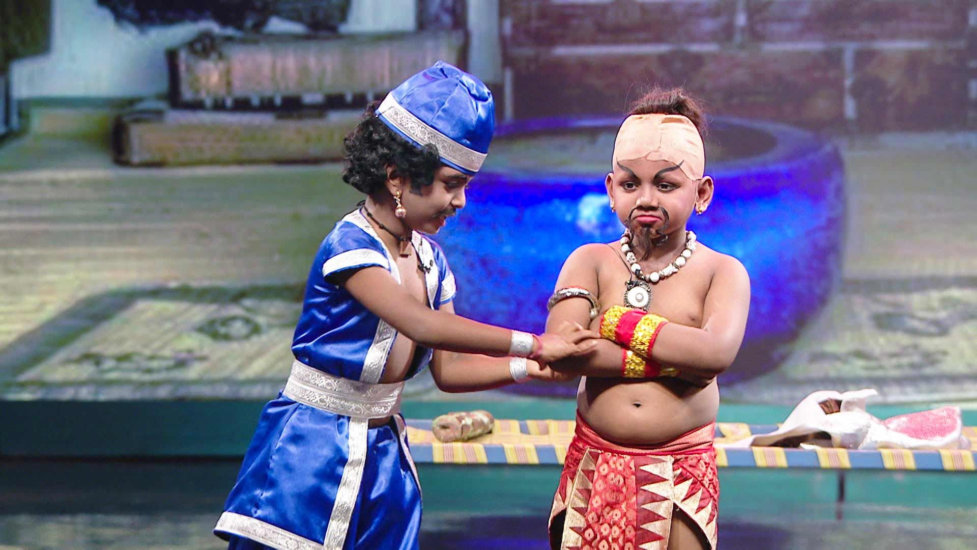 Jatti Jaganathan in Kings of Comedy Junior Performance