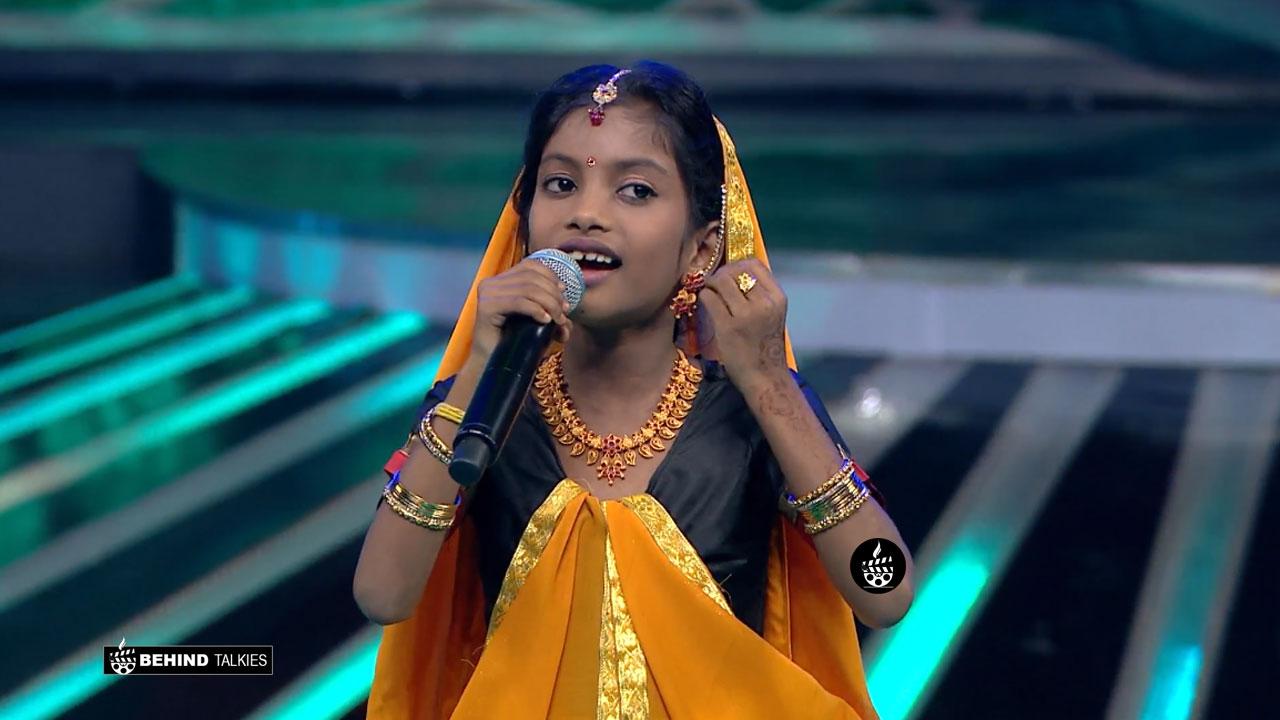 Super Singer Gokula Priya in Getup round