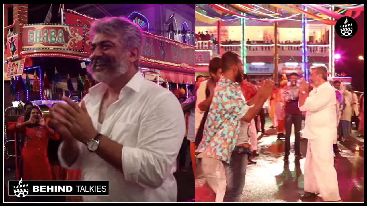 Photo of Viswasam Making Video.! Ajith Gesture Will Make You Melt.!