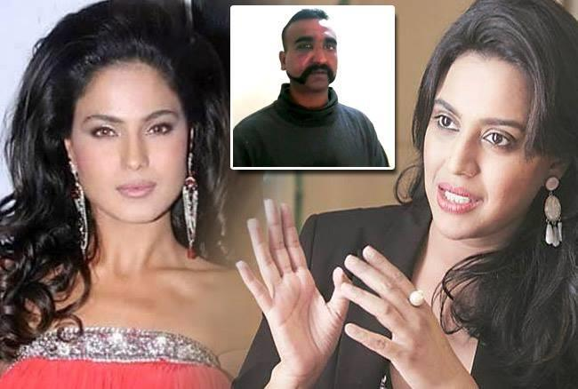 Photo of Swara Bhasker lambastes Pakistani actress Veena Malik.! For Mocking Abhinandan.!