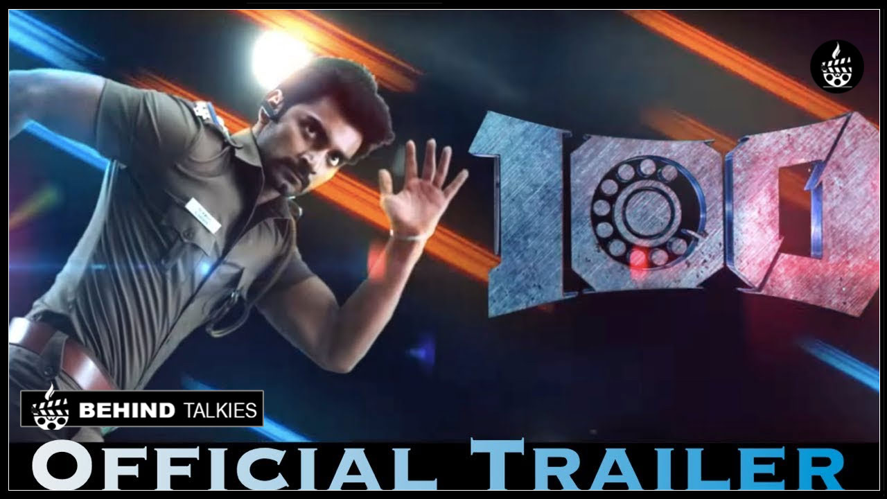 Photo of Atharvaa As A Cop.! Here Is The Trailer Of 100.!